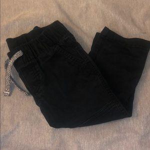 Toddler boy black jeans